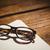 空っぽ · 帳 · 老眼鏡 · デスク · ビジネス · オフィス - ストックフォト © wavebreak_media