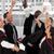 groep · permanente · glimlachend · studenten · diploma · onderwijs - stockfoto © wavebreak_media