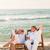 convés · cadeiras · praia · dois · careca - foto stock © wavebreak_media