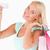 nő · bevásárlótáskák · hitelkártya · stúdió · mosoly · arc - stock fotó © wavebreak_media