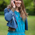 sorridere · adolescente · telefono · cellulare · piedi · campagna - foto d'archivio © wavebreak_media