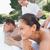 casal · massagem · saúde · fazenda · vista · lateral - foto stock © wavebreak_media
