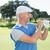 golfer standing and swinging his club stock photo © wavebreak_media