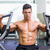 gespierd · man · werken · fitness · machine · gymnasium - stockfoto © wavebreak_media