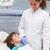 Pediatric dentist examining a little boys teeth in the dentists  stock photo © wavebreak_media