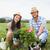 Happy young couple gardening together stock photo © wavebreak_media