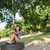 bella · pneumatico · swing · donna · felice - foto d'archivio © wavebreak_media