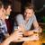 heureux · amis · up · communication · parler · alcool - photo stock © wavebreak_media