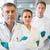 takım · bilim · adamları · laboratuvar · tıbbi · araştırma · grip - stok fotoğraf © wavebreak_media