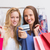 笑顔の女性 · ショッピングバッグ · クレジットカード · ショッピング · 販売 · 銀行 - ストックフォト © wavebreak_media