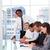 leiderschap · werken · team · kantoor · telefoon · vergadering - stockfoto © wavebreak_media