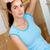 bella · donna · cartone · finestra · seduta · nuovo - foto d'archivio © wavebreak_media
