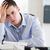 jungen · Geschäftsmann · Rechnungslegung · Papier · Pfund · Arbeitnehmer - stock foto © wavebreak_media