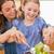 портрет · матери · Салат · дочь · кухне · продовольствие - Сток-фото © wavebreak_media