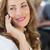 красивой · деловая · женщина · мобильного · телефона · человека · связи - Сток-фото © wavebreak_media