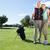 golfen · paar · man · gelukkig · landschap · Blauw - stockfoto © wavebreak_media