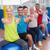 people gesturing thumbs up in health club stock photo © wavebreak_media