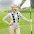 lady golfer holding flag stock photo © wavebreak_media