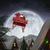 luna · foto · babbo · natale · seduta · lucido - foto d'archivio © wavebreak_media