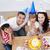 jong · meisje · verjaardagstaart · geschenken · partij · gelukkig · verjaardag - stockfoto © wavebreak_media