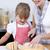 madre · figlia · pane · cucina · donna - foto d'archivio © wavebreak_media