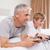 счастливым · отцом · сына · играет · Видеоигры · спальня · семьи - Сток-фото © wavebreak_media