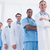 portrait of doctors in a row at hospital stock photo © wavebreak_media