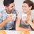 завтрак · вместе · любви · пару · еды · сухих · завтраков - Сток-фото © wavebreak_media