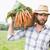ハンサム · 農家 · バスケット · 男 - ストックフォト © wavebreak_media