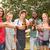gelukkig · vrienden · park · barbecue · groep - stockfoto © wavebreak_media
