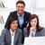 ernstig · onderneemsters · collega · werken · laptop · kantoor - stockfoto © wavebreak_media