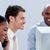 aandachtig · business · team · werken · laptops · heldere · kantoor - stockfoto © wavebreak_media