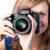 笑顔の女性 · カメラ · 白 · スペース · 写真 · 女性 - ストックフォト © wavebreak_media