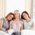 szczęśliwy · młodych · trzy · damska · znajomych · obraz - zdjęcia stock © wavebreak_media