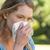 fiatal · nő · orrot · fúj · fiatal · allergiás · nő · tüsszentés - stock fotó © wavebreak_media
