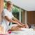 hombro · masaje · lujo · femenino · día · spa - foto stock © wavebreak_media