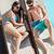 adam · rahatlatıcı · yüzme · havuzu · yakışıklı · adam · su · mutlu - stok fotoğraf © wavebreak_media