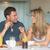gelukkig · ontbijt · keuken · vergadering · familie - stockfoto © wavebreak_media