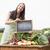 woman selling organic vegetables at market stock photo © wavebreak_media