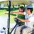 golfozás · barátok · vezetés · golf · golfpálya · boldog - stock fotó © wavebreak_media
