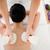 mulher · bonita · massagem · hotel - foto stock © wavebreak_media