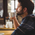 worried man drinking a coffee stock photo © wavebreak_media