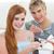十代の少年たち · ファストフード · 一緒に · 食品 · 友達 - ストックフォト © wavebreak_media