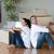 joyful couple with unpacking boxes moving to a new house stock photo © wavebreak_media