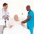 különböző · megvizsgál · beteg · orvosok · kórház · férfi - stock fotó © wavebreak_media