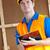 мужчины · работник · буфер · обмена · работу - Сток-фото © wavebreak_media