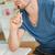 mężczyzna · praca · domowa · młody · człowiek · pracy · nauki - zdjęcia stock © wavebreak_media