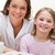 портрет · матери · дочь · завтрак · кухне · улыбка - Сток-фото © wavebreak_media