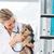 ветеринар · щенков · женщины · стетоскоп · клинике - Сток-фото © wavebreak_media