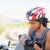 dor · bicicleta · mulher · menina · sessao · rosto - foto stock © wavebreak_media
